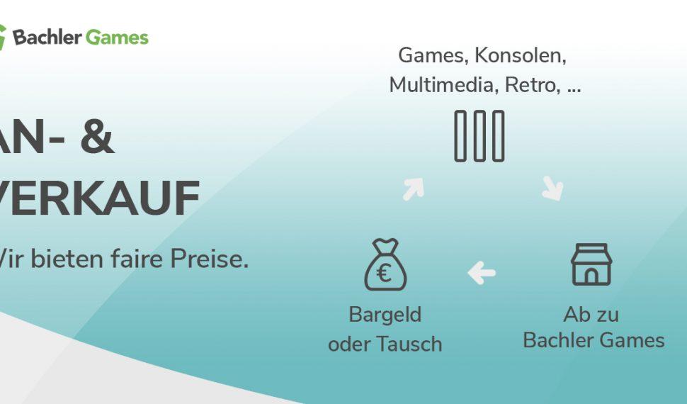 An- und Verkauf bei Bachler Games