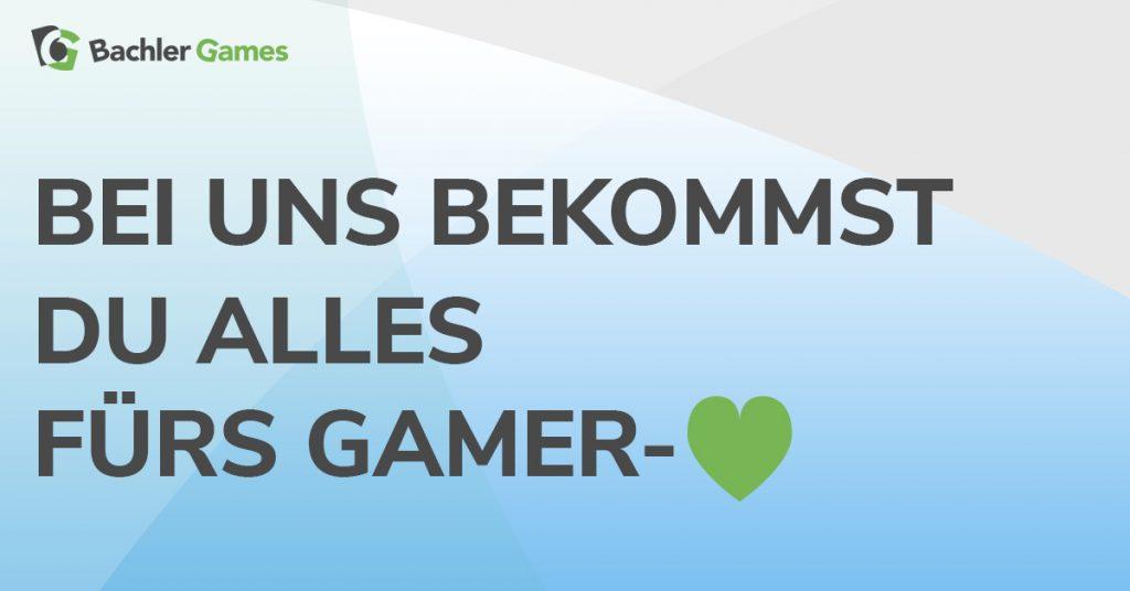 b10a83914c1d7 Bachler Games Nordstraße 47 Bocholt  Logo Bachler Games Gamer Herz ...