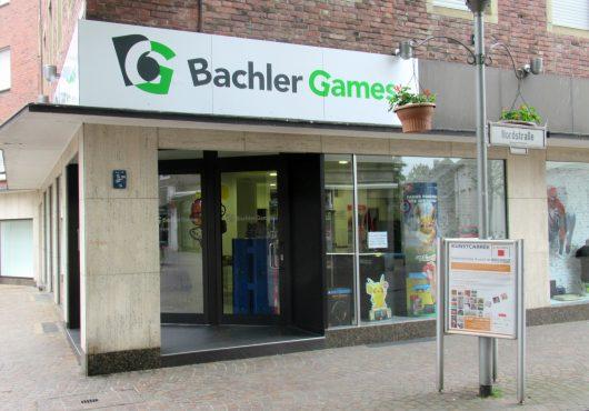 Bachler Games Ladenlokal außen Nordstr. 47 Bocholt