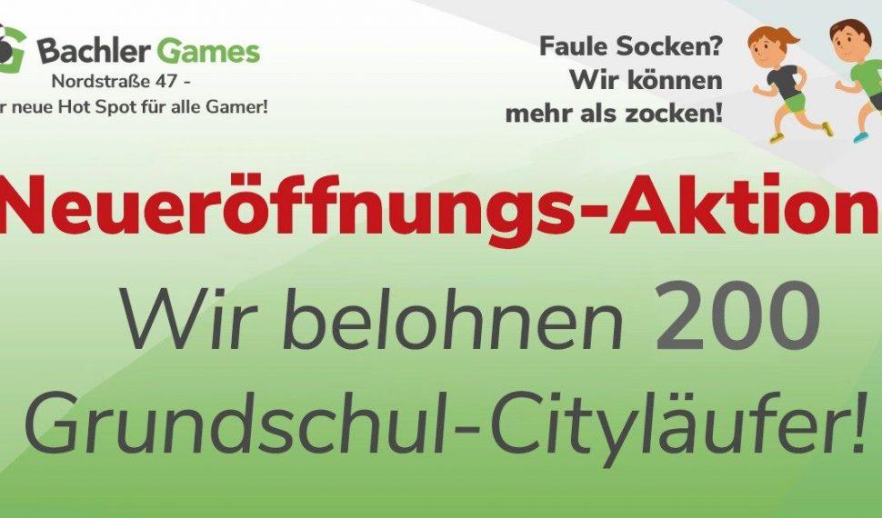Neueröffnungs-Aktion Bachler Games